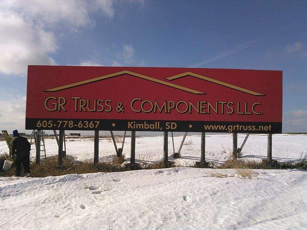 Kimball, South Dakota - Grass Ranch Trusses