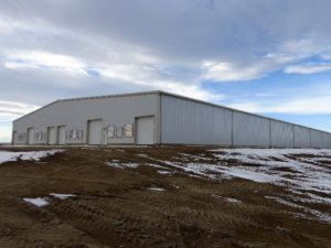 Magrath, Alberta - Deerfield Chicken Barn