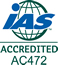 IAS Accredited logo