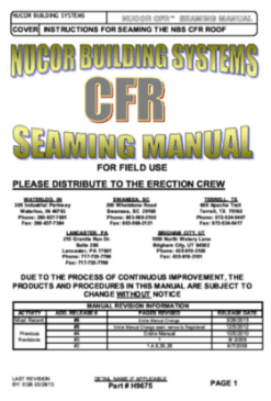 CFR Seaming Manual